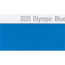 3035 Olympijská modrá plotrová fólie / Plotr Olympic Blue / lesk