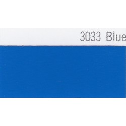 3033 Modrá plotrová fólie / Plotr Blue / lesk