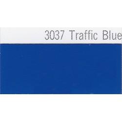 3037 Dopravní modrá plotrová fólie / Plotr Traffic Blue / lesk