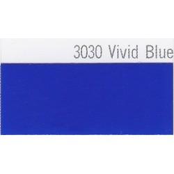3030 Živě modrá plotrová fólie / Plotr Vivid Blue / lesk