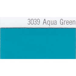 3039 Vodní zelená plotrová fólie / Plotr Aqua Green / lesk