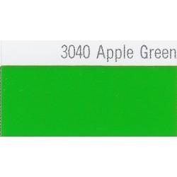 3040 Jablečně zelená plotrová fólie / Plotr Apple Green / lesk