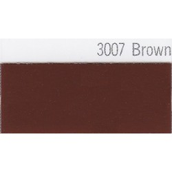 3007 Hnědá plotrová fólie / Plotr Brown / lesk