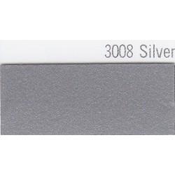3008 Stříbrná plotrová fólie / Plotr Silver / lesk