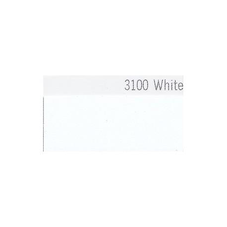 3100 Bílá plotrová fólie / Plotr White / mat