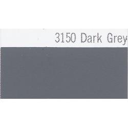 3150 Tmavě šedá plotrová fólie / Plotr Dark Grey / mat