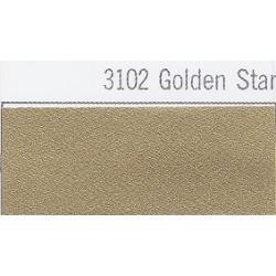 3102 Hvězdná zlatá plotrová fólie / Plotr Golden Star / mat