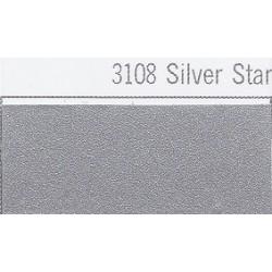 3108 Hvězdná stříbrná plotrová fólie / Plotr Silver Star / mat