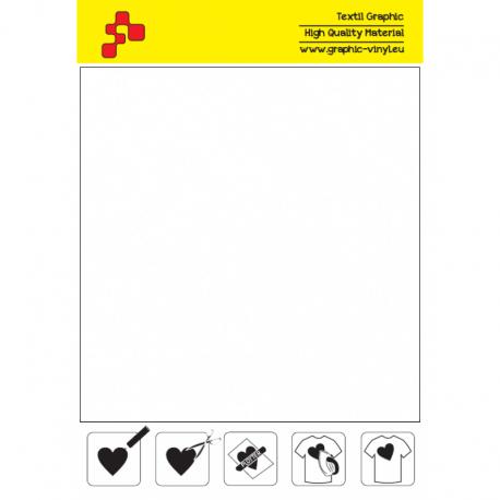 IDSF700A Bílá (Arch) Speed flex nažehlovací fólie / iDigit