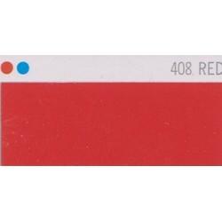 408 Červená nažehlovací fólie Poli-Flex PREMIUM / Red