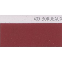 409 Bordeaux nažehlovací fólie Poli-Flex PREMIUM / Bordeaux