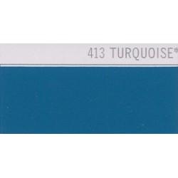 413 Tyrkysová nažehlovací fólie Poli-Flex PREMIUM / Turquoise