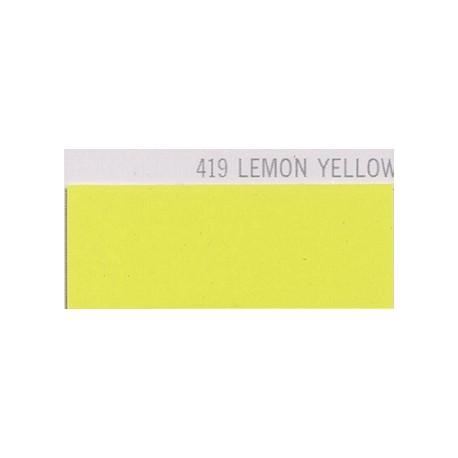 419 LEMON YELLOW Poli-Flex PREMIUM Nažehlovací fólie / Citrónově žlutá