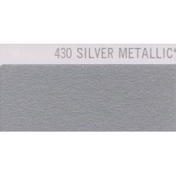 430 Stříbrná nažehlovací fólie Poli-Flex PREMIUM / Silver Metallic 430