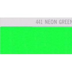 441 Neonově zelená nažehlovací fólie Poli-Flex PREMIUM / Neon Green