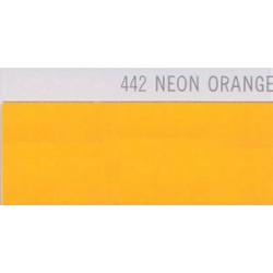 442 Neonově oranžová nažehlovací fólie Poli-Flex PREMIUM / Neon Orange