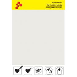 IDM700A Metalická bílá flex nažehlovací fólie / iDigit