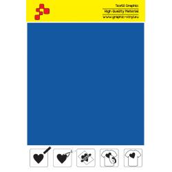 IDM742A Metalická modrá flex nažehlovací fólie / iDigit