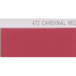472 Cardinální červená nažehlovací fólie Poli-Flex PREMIUM / Cardinal Red