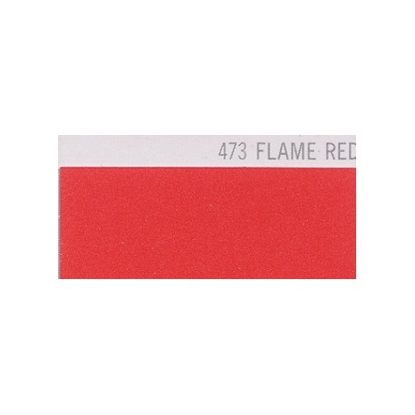 473 FLAME RED Poli-Flex PREMIUM Nažehlovací fólie / Ohnivě červená