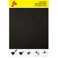 IDRCB8A Reflexcut Černá 8 reflexní (Arch) nažehlovací fólie / iDigit