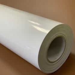 K150CLINGW Elektrostatická bílá lesklá tisková fólie / Kemica
