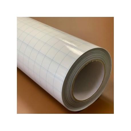 AT170 Aplikační PVC přenosná transparentní fólie s podkladovým papírem / Poli-Tape