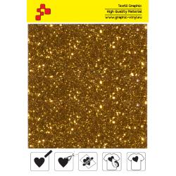 IDD722A Perleťová dýňově žlutá (Arch) nažehlovací fólie / iDigit