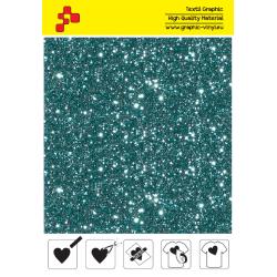 IDD783A Perleťová akvamarínová (Arch) nažehlovací fólie / iDigit