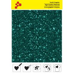 IDD782A Perleťová tyrkysová (Arch) nažehlovací fólie / iDigit