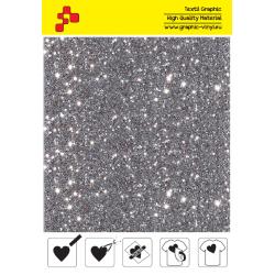 IDD796A Perleťová stříbrná (Arch) nažehlovací fólie / iDigit