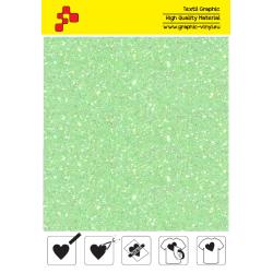 IDDFLUO50A Perleťová neonově zelená (Arch) nažehlovací fólie / iDigit