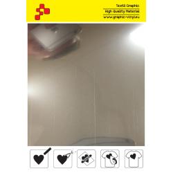 IDSSA Metalická lesklá stříbrná (Arch) nažehlovací fólie / iDigit