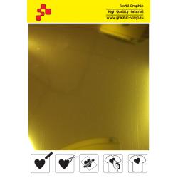 IDSGSOFTA Metalická lesklá zlatá (Arch) nažehlovací fólie / iDigit