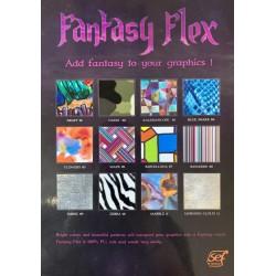FF000 Vzorník A4 Fantasy flex fólií / SEF Textile
