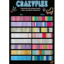 CF000 Vzorník A4 Crazy Flex fólií / SEF Textile