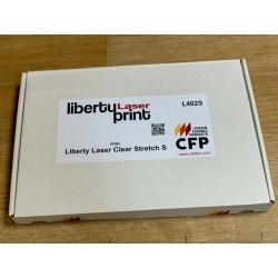 L402SA3 Laser tisk transparentní nažehlovací fólie  / CFP Flex