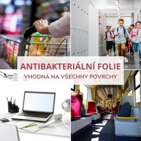 350 Antibacterial/370 čirá antibakteriální samolepicí fólie / iDigit